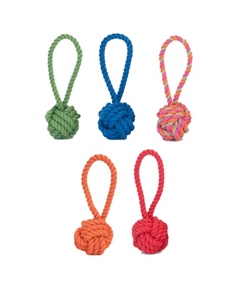 Harry Barker Tug & Toss Rope Toy LIMITED QUANTITIES