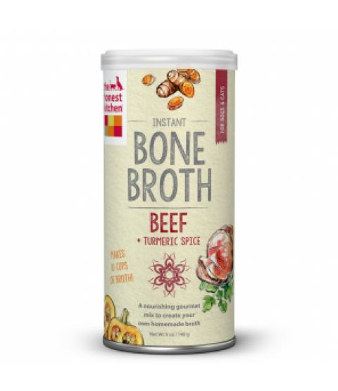 Instant Beef Bone Broth with Turmeric I The Honest Kitchen