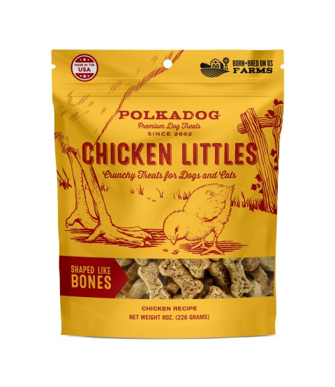 Polka Dog Bakery Chicken Littles Crunchy Dog Treats