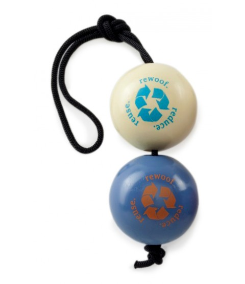 Orbee Tuff Recycle Balls on a Rope