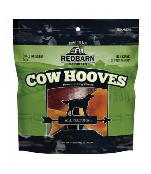 Redbarn Naturals Cow Hooves 10 pack