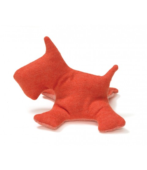 West Paw Scottie Hemp Dog Toy - 2 Sizes - LIMITED QUANTITIES