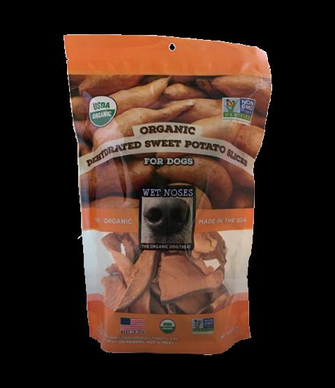 Organic Dried Sweet Potato Slices
