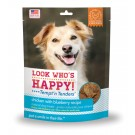 Tempt'n Tenders Chicken with Blueberry Dog Treats - Look Who's Happy
