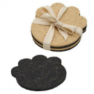 Paw Recycled Rubber Coasters Set-of-Four - ORE Originals