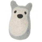 Lollycadoodle Felted Wool Wolf Dog Toy