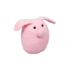 Ware of the Dog Felted Wool Pig Dog Toy