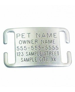 Boomerang Adjustable Collar Tag