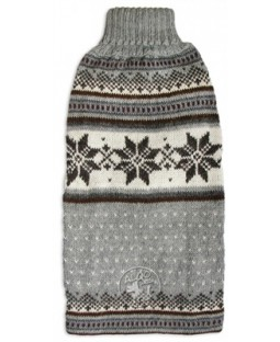 Alqo Wasi Mystic Snowflakes Rollneck Alpaca Sweater - 1 EXTRA LARGE LEFT!