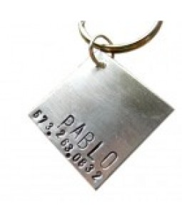 At Ease Dog ID Tag Made in USA