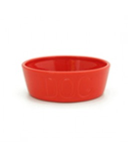 Bauer Dog Bowl - Orange