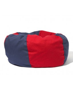 Wagwear Beach Ball Dog Bed - Navy & Red
