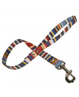 Deck Stripe Canvas Dog Lead