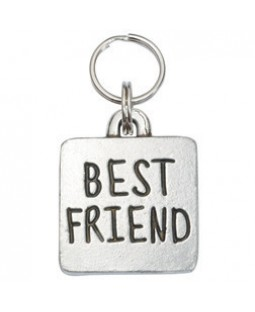 Square Best Friend Dog ID Tag