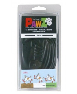 Pawz Dog Boots - Urban Black