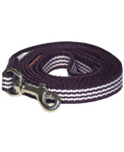 George Navy Woven Stripe Cotton Leash