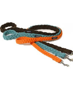 Wagwear Braided Fisherman Leash