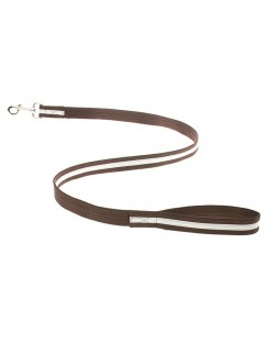 Reflective Dog Leash - Brown