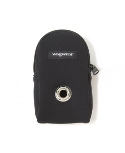 Neoprene Leash Pouch - Black