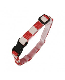 Red Stripe Cat Collar - Creature Clothes