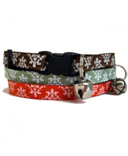 Damask Cat Collar