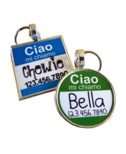 Ciao Pet ID Tag