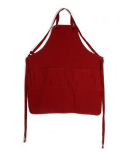Utility Full Apron - Red