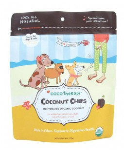 CocoTherapy Organic Coconut Chips - 6 oz.