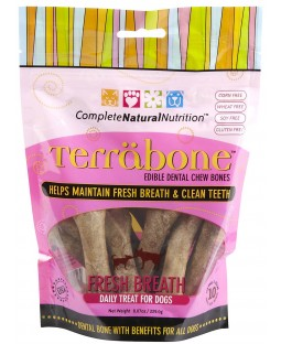 Complete Natural Nutrition Terrabone Fresh Breath Chew for Dogs