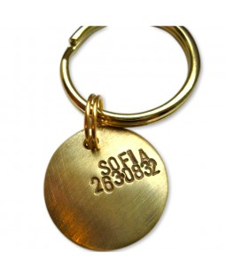 Convex Pet ID Tag