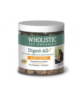 Digest-All+ Soft Chew for Dogs - Wholistic Pet Organics