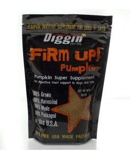Diggin Your Dog FiRM UP! Dehydrated Pumpkin
