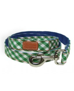 George Green Gingham Leash