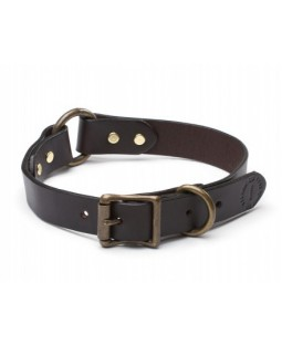 Filson Leather Collar - Brown