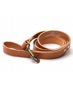 Filson Leather Leash - Natural