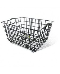 Basil Forte Bicycle Basket - Black