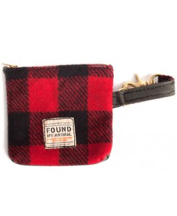Found Red Buffalo Plaid Multi-Use Pouch