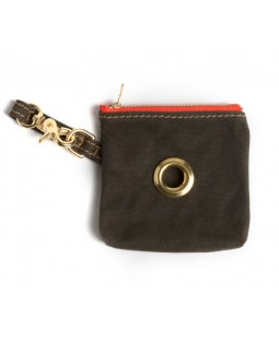 Found Olive Multi-Use Pouch