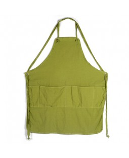 Utility Full Apron - Leaf Green