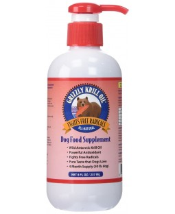 Grizzly Krill Oil - Antioxidant for dogs