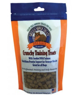 Grizzly Smoked Wild Salmon Grain-Free Oven Baked Training Dog Treats