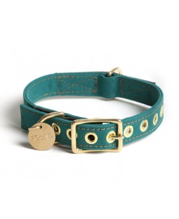Found Girl Scout Green Canvas Collar