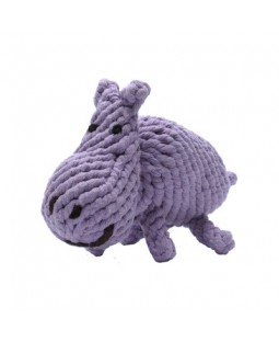 Hank the Hippo Rope Toy