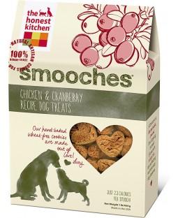 The Honest Kitchen Smooches Chicken & Cranberry Recipe Dog Treats