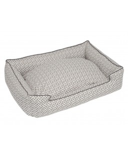 Hera Grey Lounge Dog Bed