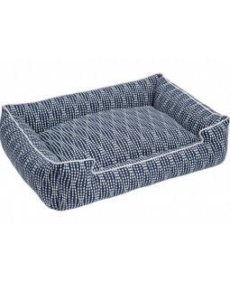 Jax & Bones Navy Pearl Lounge Dog Bed