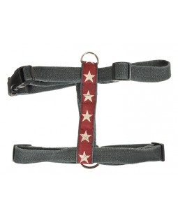 Earthdog Hemp Stars Dog Harness - Three Colors