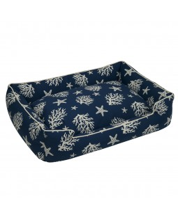 Jax & Bones Cove Lounge Dog Bed - Sand or Navy