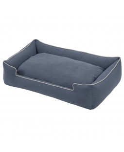 Jax & Bones Easy Care Crypton Blueberry Lounge Dog Bed