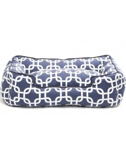 Jax & Bones Marine Cotton Lounge Bed